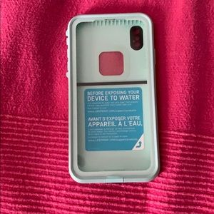 iPhone XS Max Lifeproof case. Used.